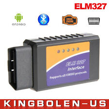 OBDII ELM327 V2.1 Bluetooth Car Scanner Android Torque Auto Scan Tool OBD 2