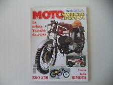MOTO STORICHE E D'EPOCA 7/1997 VJATKA/ESO 250/STORIA STORY BIMOTA/YAMAHA 250 S