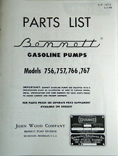 Bennett 700 Series Gas Pump Parts Manual BK-BEN700MAN