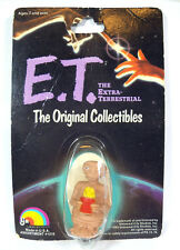 "1982 ET The Extra-Terestrial LJN 2"" Figure w/  Popcorn on Original Card"