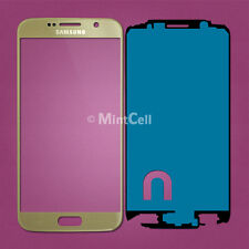 Light Gold Front Lens Screen Glass Replacement for Samsung Galaxy S6 G920 S 6