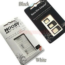 3 Adapters Nano SIM & Micro SIM & SIM Card Adapter Tray Holder for iphone 5 4S 4