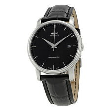 Mido Baroncelli III Automatic Black Dial Mens Watch M0104081605120