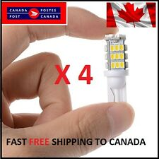 4 X T10/921/194 Car LED COOL White 42SMD Bulbs W5W RV Trailer Backup Reverse