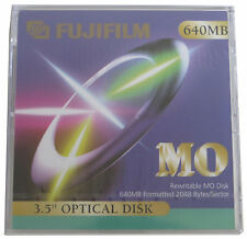 Fujifilm Rewritable Optical Disk  640 MB MO NEU   #10