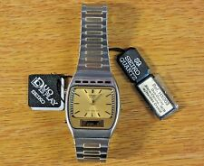 Seiko Duo Time Display Vintage Alarm-Chrono Quartz Watch Analog/Digital HX003