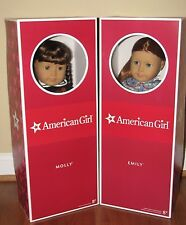 American Girl Dolls Molly and Emily!! NRFB!! NEW!!