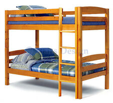 Twin Over Twin Bunk  Bed Woodworking Plans Design #1201, Cutting List Included