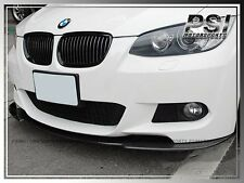 Carbon Fiber Front Bumper Lip w/ M-Package for 07-10 BMW E92 E93 2Dr