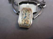 Gruen 14K Gold Filled Ladies 1920's Vintage  Wrist Watch 15 Jewels