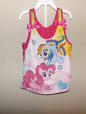 My little Pony Pinkie Pie Rainbow Dash 2 pc pajama set 10/12 sleep wear Hasbro