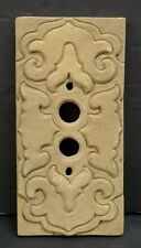 Vintage Ceramic Push Button Light Switch Plate (2)
