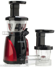 Tribest Slowstar Juicer SW-2000 Low Speed Vertical Mincer w/Juice Cap Slow Star