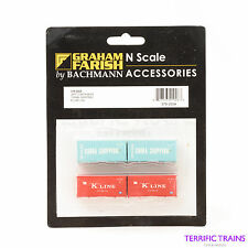 GRAHAM FARISH - N GAUGE - 379-350A - 20' Container China Shipping KLine - Sealed
