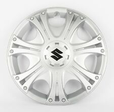 "BRAND NEW Genuine Suzuki Wheel Trims 15"" Silver SET OF 4 - Swift Splash G30"