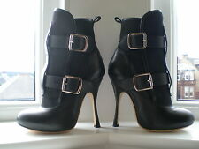 VIVIENNE WESTWOOD SEDITIONARY BLACK LEATHER BOOT 4