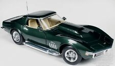1969 Chevrolet Corvette Baldwin Motion GREEN 1:18 Auto World 1010