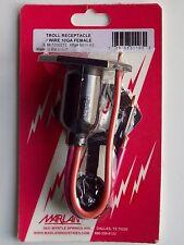 Troll Plug - Trolling Motor Receptacle 3 Wire 10 Gauge Female - Mar-Lan 5011-03