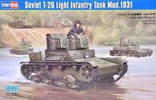 Hobby Boss 1/35 Soviet T-26 Light Infantry Tank Model 1931  #82494