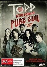 Todd And The Book Of Pure Evil : Season 1 (DVD, R4, 2012, 2-Disc Set, Ex-Rental)
