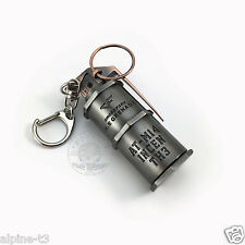 Cross Fire Weapons High explosive grenade Military Metal Model Pendant Keychains