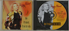 ORIGINALE firmato-Peggy March-la libertà signora di essere-CD (w128)