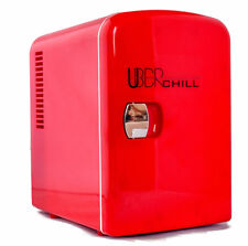 Uber Appliance UB-CH1 Uber Chill 6-can Mini Fridge Personal Cooler and Warmer