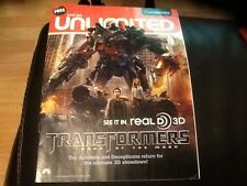 PROMOTIONAL  CINEWORLD FILM MAGAZINE features TRANSFORMERS DARK OF THE MOON 2011