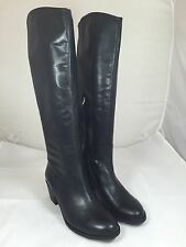 Sam Edelman Loren Womens Black Leather Knee-High Boots Size 9.5 cO14