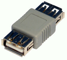 USB 2.0 A Socket Female To Female Adapter Joiner Coupler [002623]
