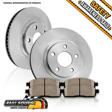 Front Brake Rotors and Ceramic Pads FITS 370Z 350Z M56X M56 M37X M37 M35h EX35