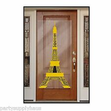 Paris EIFFEL TOWER DOOR wall COVER Party Prop Decoration PHOTO BOOTH