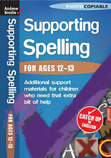 Spelling 12-13 (Supporting Spelling),Brodie, Andrew,New Book mon0000018691