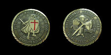 ARMOR OF GOD CHALLENGE COIN MILITARY COINS RELIGIOUS COIN NEW