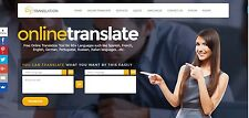 The Best Translation service website for sale Home Business Make Money Online
