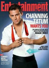 Channing Tatum Poster entertainment weekly sexy open shirt 11x17 Mini Poster