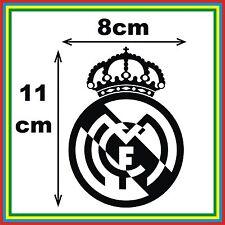 ESCUDO REAL MADRID - PEGATINA VINILO STICKER COCHE CAR RALLY MOTO MTB FUTBOL