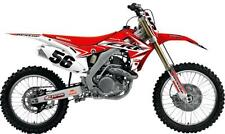 N-STYLE IMPACT GRAPHIC ONLY Fits: Honda CR125R,CR250R Red White N40-1726