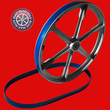 SET OF 2 BLUE MAX ULTRA DUTY BAND SAW TIRES FOR RECORD POWER RSBS12 BAND SAW