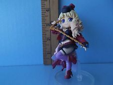 "Macross Frontier Sheryl Nome 3.75""in Mini Figure in Sexy Black Outfit Red Shoes"