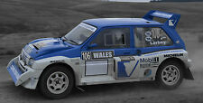 PART I 600+ PHOTOS OF METRO MG6R4 RALLY CAR 1986 - 2015. WRC RS COSWORTH
