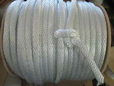 "ANCHOR ROPE DOCK LINE 3/4"" X 50' BRAIDED 100% NYLON MADE IN USA"