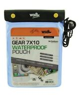 """Waterproof Gear Pouch Bag 7"""" x 10"""" for Kayaking Camping Canoeing Fishing"""