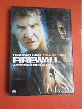 FIREWALL- accesso negato- CON:HARRISON FORD- DVD film- da collezione- sigillato
