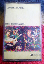 ROBERT PLANT 10 from 47 URUGUAY TEN FROM FORTY SEVEN Led Zeppelin CASSETTE*