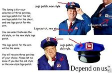 FANCY DRESS HALLOWEEN COSTUME MAYTAG REPAIR MAN 3-PATCH
