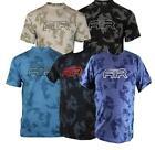 NIKE AIR Men's T-Shirt in DARK BLUE /WHITE /LIGHT BLUE & BLACK