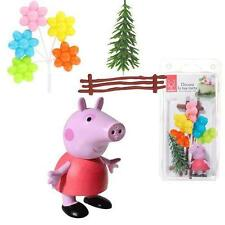 71044 KIT DECORAZIONE TORTA FESTA A TEMA PEPPA PIG CAKE DESIGN ADDOBBI TOPPER