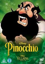 DISNEY - PINOCCHIO    VILLAINS O RING DVD SLIPCOVER ONLY