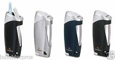 COLIBRI Firebird Ace Wind Resistant Single Action Jet Torch Lighter Silver